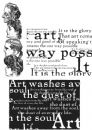 SCF004 Stampers Anonymous Tim Holtz Cling Mounted Stamp Set - Classics #4 Stamp Set